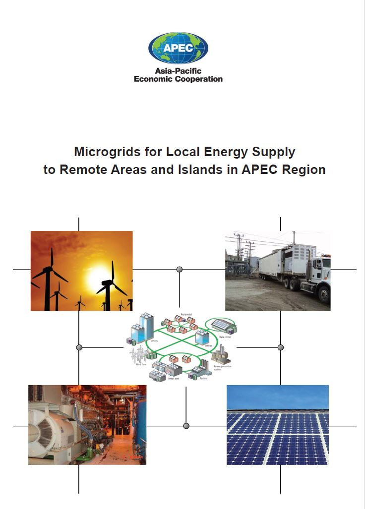 Обложка Microgrids for Local Energy Supply to Remote Areas and Islands in APEC Region